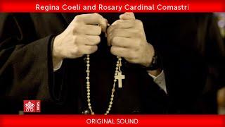 May 26 2020  Regina Coeli and Rosary  Cardinal Comastri