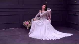 Tulle & Satin Chiffon Bateau Neckline A-Line Prom Dress- Adasbridal (SOD66196)