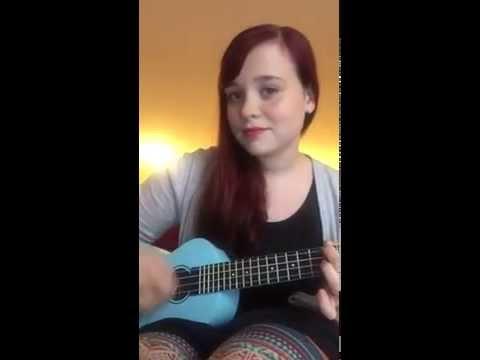 Loralee playing an original song on Ukelele