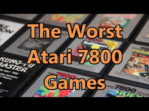 The Top 5 Worst Atari 7800 Games According To 7800 Users - The No Swear Gamer