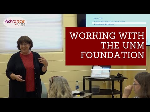 Research Success Series: Working with the UNM Foundation