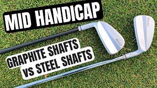 Steel Shafts Vs Graphite Shafts For Mid Handicap Golfers