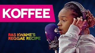 Koffee Drops An Exclusive 2019 Freestyle | Ras Kwame's Reggae Recipe | Capital XTRA