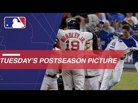 Red Sox take Game 3, Dodgers even NLCS at 2