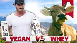 Veganes Protein schlechter für Muskelaufbau?