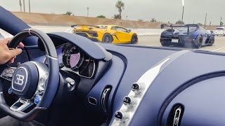 COCKY LAMBORGHINI OWNER GETS DESTROYED BY HYPERCARS …