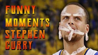 NEW! Stephen Curry FUNNY MOMENTS[HD]