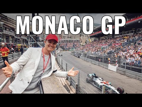 MY FAVORITE RACE OF THE YEAR - MONACO F1!! | NICO ROSBERG | RACEVLOG