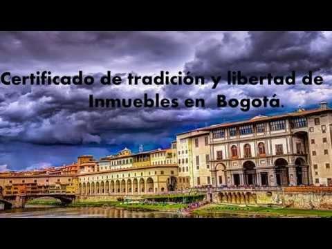 Certificado de matricula inmobiliaria SIN FILAS en Bogota
