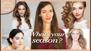 What's your season? | Seasonal color analysis | Justine Leconte