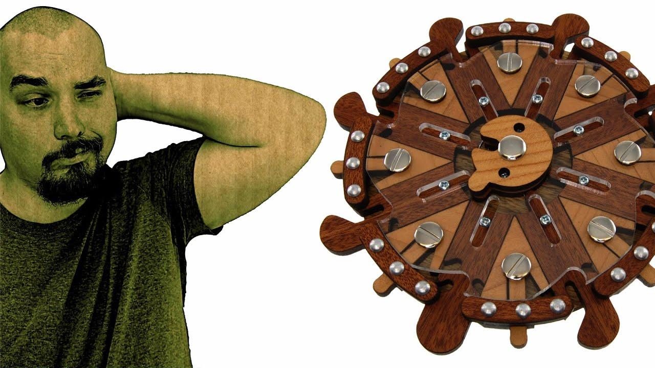 Steuerrad Puzzle from Jean Claude Constantin – Solution