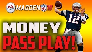 Easiest Money Pass Play To Run In Madden 18! Hard To Stop!