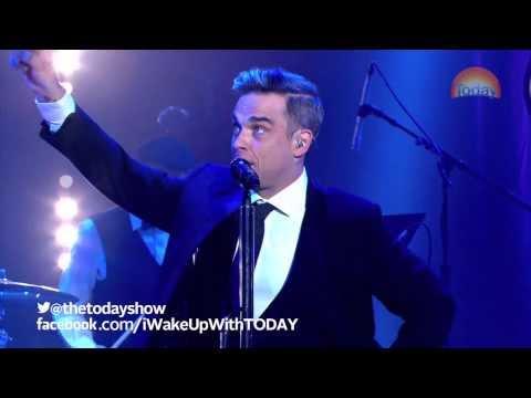 Robbie Williams on TODAY: Puttin' On The Ritz