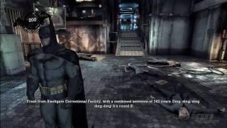 Batman: Arkham Asylum 'E3 2009 Demo Gameplay [1/2]' TRUE-HD QUALITY