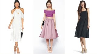 Amazing Below The Knee Dresses And Skirts For Your Leisure Time