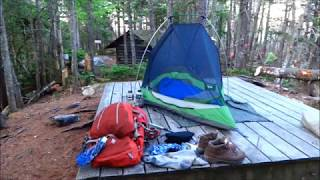 The Appalachian Trail in Maine (Part One):  Gorham NH to Horn Pond ME-  Real Time