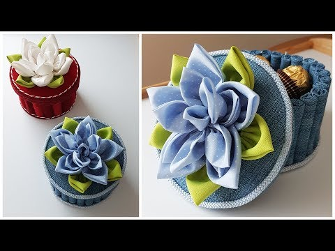 How To Make Easy Handmade Fabric Basket