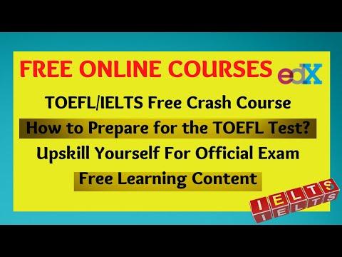 Free Online TOEFL Preparation Course,#FreeCourse - YouTube