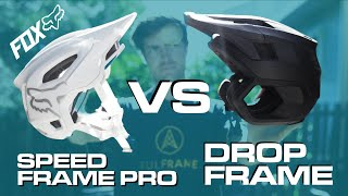 FOX DROPFRAME VS SPEEDFRAME PRO - Best MTB Helmets