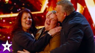 15-Year-Old Kyle Tomlinson Wins GOLDEN BUZZER on Britain's Got Talent 2017!   Got Talent Global