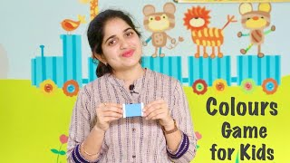 Kidzee Preschool Online Classes - Colours game for kids - How to teach Colours to Kids with examples
