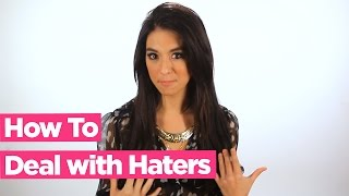 How to Deal with Haters - Christina Grimmie Advice!