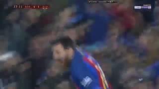 Lionel Messi Free-kick Goal - Barcelona Vs Athletic Bilbao Copa del Rey 11/01/2017 HD