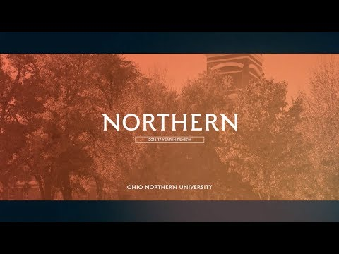 Ohio Northern University 2016-17 Year in Review
