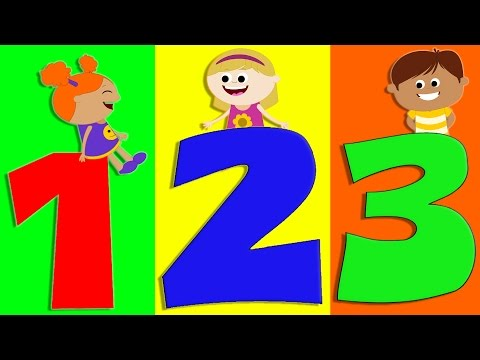 Numbers Song   Learn Numbers   Count From 1 To 10   Numbers Rhyme For Kids And Childrens