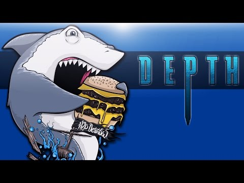 DEPTH: DIVERS VS SHARKS Ep. 1 (Very Hungry Sharks!)
