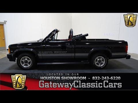 Video of 1989 Dodge Dakota located in Houston Texas - $15,595.00 - L1SP
