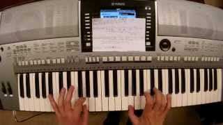 Avicii Gonna Love Ya Talk to myself City Lights True Believer piano keyboard synth cover LIVE DJ FLO