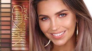 NAKED HEAT TUTORIAL | Full Face Using Urban Decay Products