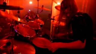"Nils ""Dominator"" Fjellström - Dark Funeral - The Fire Eternal/Satan's Mayhem - (Drumcam)"