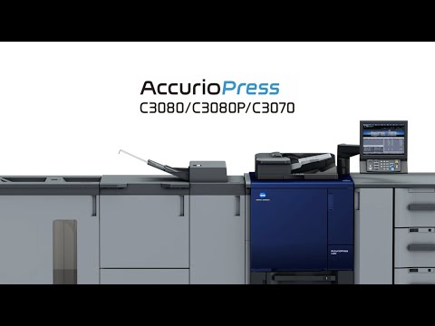 Konica Minolta AccurioPress C3070P Color Production Printer