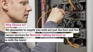 What are the Reliable and Secure Network Cabling Services in Dubai