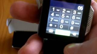 Uhren-Handy PW-315.touch - Armband-Handy mit Mediaplayer von Pearl