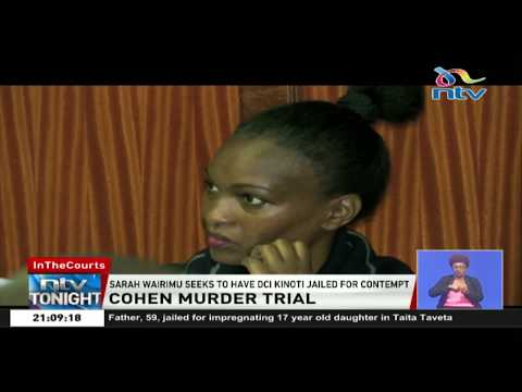 Sarah Wairimu seeks to have DCI Kinoti jailed for contempt of court