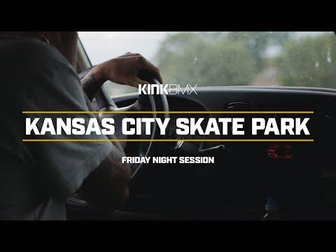 Friday Night KC Skatepark Session! - Kink BMX