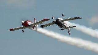 RV Aircraft Video - Redline Airshows RV8's - Oshkosh 2018