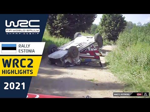 WRC2 2021 第7戦ラリー・エストニア ハイライト動画
