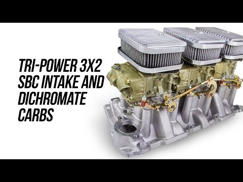 Tri-Power Carbs - Holley SBC Intake and Carburetor System