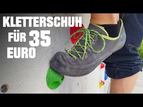Simond Rock - Was taugt der Kletterschuh für 35 Euro?