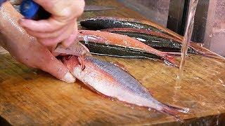 Japanese Street Food - BANANA FISH Seafood Okinawa Japan