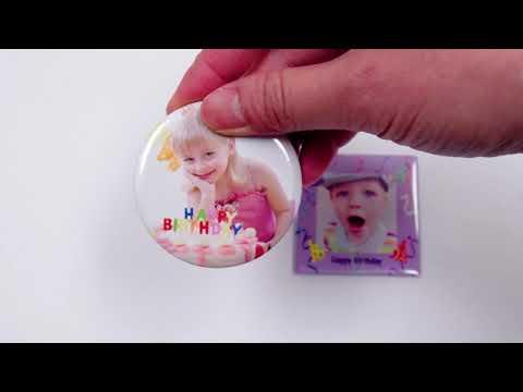 Fotomagnete mit eigenem Foto oder Motiv selbst gestalten und drucken