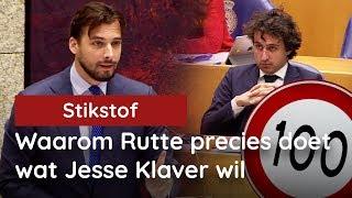 """""""Stikstofcrisis""""? Baudet legt bloot waarom Rutte precies doet wat Klaver wil"""