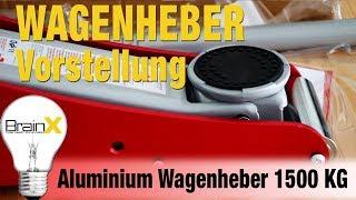 Wagenheber aus Aluminium mit 1500 KG Hebekraft REVIEW