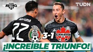 ¡México arrasa! Canadá cae ante la selección mexicana | México 3-1 Canadá | Copa Oro 2019 | TUDN
