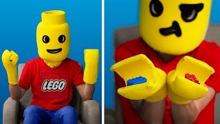 Never Too Old for Toys: 11 Сool Ways to Reuse Lego