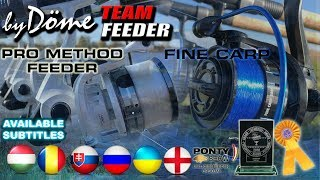 Катушка Dome team feeder Fine Carp 5000